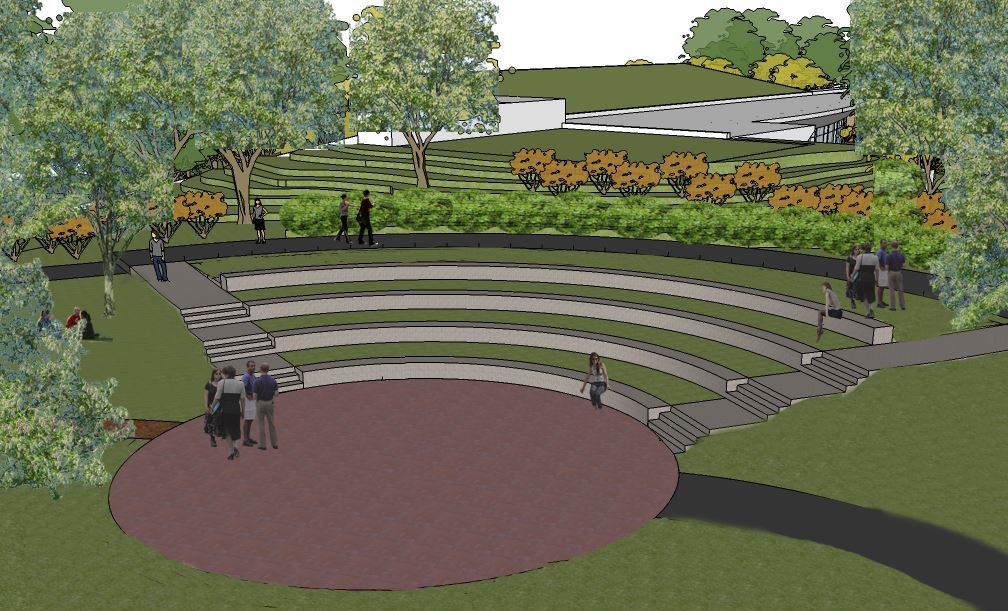 Rendering of Amphitheater