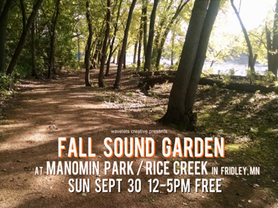 Autumn Sound Garden promo - photo of Manomin Park