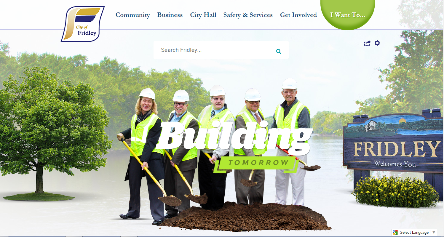 City of Fridley website